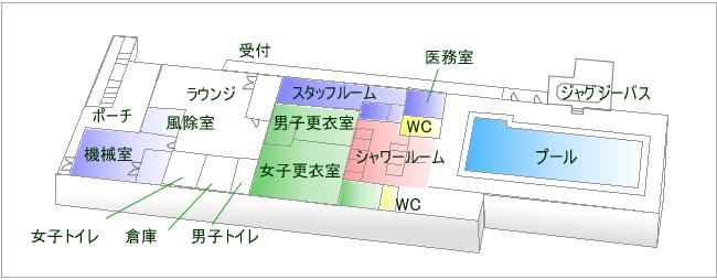 1F施設内マップ